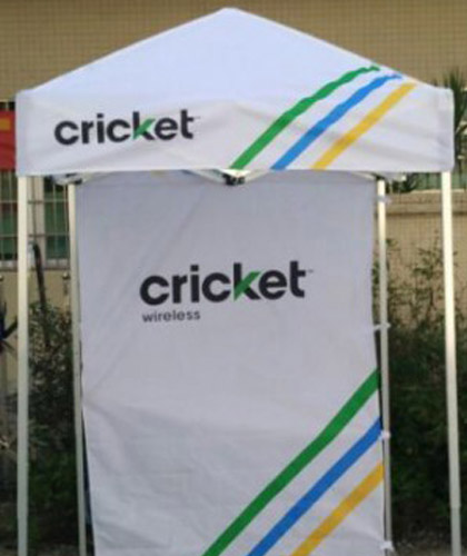 Cricket Popup Tent