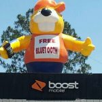 Giant Inflatable Advertising Balloon Character