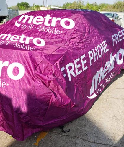 METRO-PCS-ADVERTISING-CAR-COVER-FREE-PHONE-FREE-4G-LTE-1