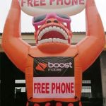 giant-inflatable-gorilla-20ft-balloon-free-phone-boost-mobile