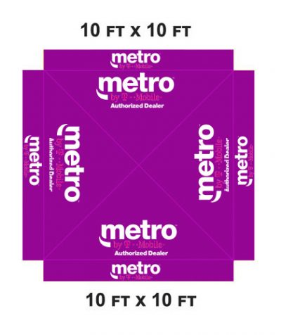 10-x-10-METRO-PCS-CANOPY-POP-UP-TENT-COVER-1