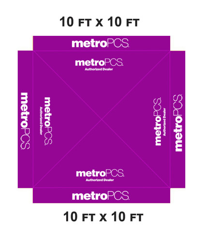 10-x-10-METRO-PCS-CANOPY-POP-UP-TENT-COVER