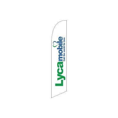 LYCA-MOBILE FLAG