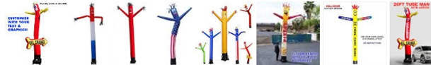 Manufacturer of Inflatable Tube Man