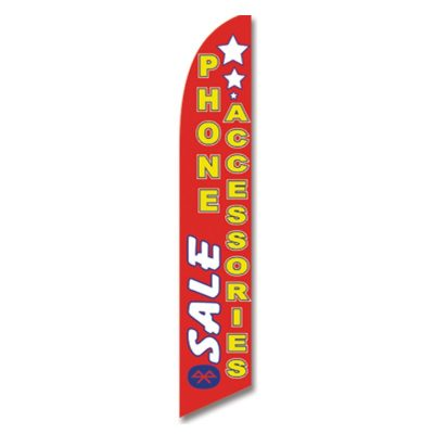 SALE PHONE ACCESSORIES FLAG
