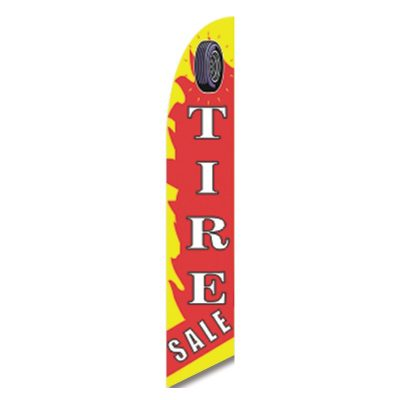 TIRE SALE FLAG