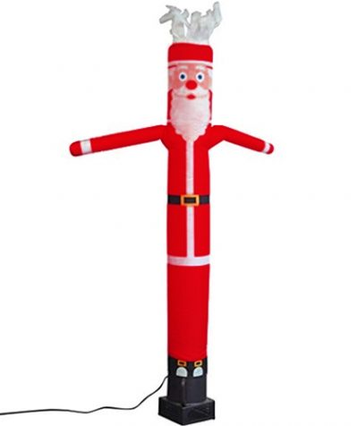 20ft Air Dancers Santa Claus inflatable Tube Guy in Red Color