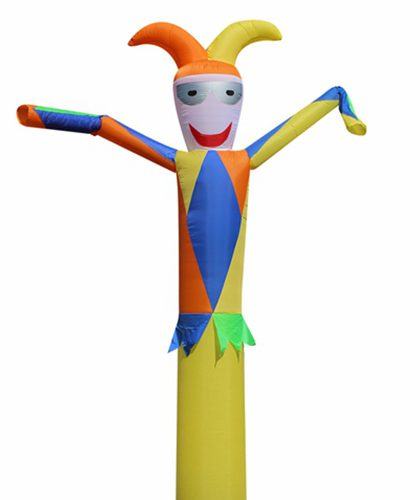 10ft White Halloween Air Dancer Tube Man