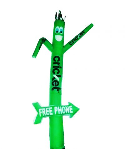 Cricket-Free-Phone-Inflatable-Tube-Man