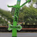 Cricket Inflatable Tube Man