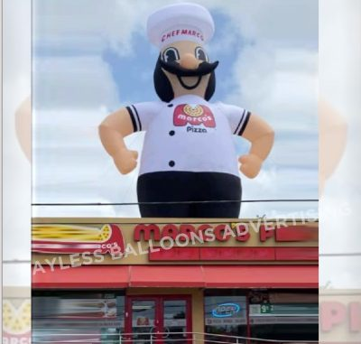 Marco's pizza giant advertising balloon