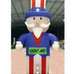Cricket-Inflatable-Uncle-Sam