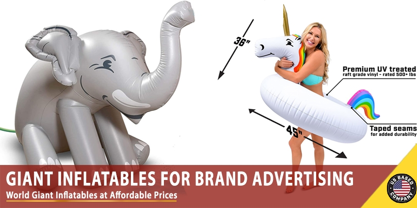 Giant Inflatables for Brand Advertising – Affordable Prices