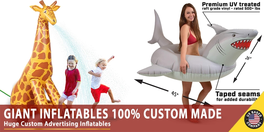 Giant Inflatables 100% Custom Made