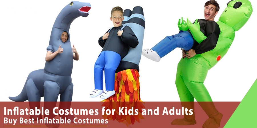 Inflatable Costumes for Kids and Adults
