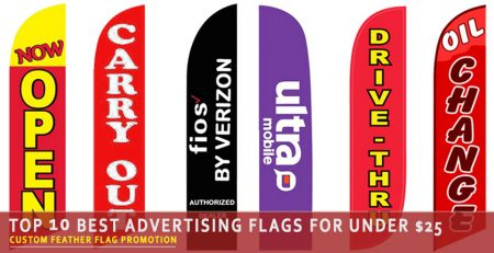 Top 10 Best Advertising Flags for Under $25