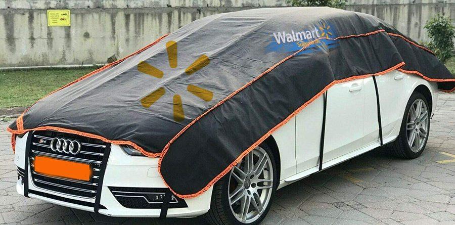 Walmart Advertising Car Covers