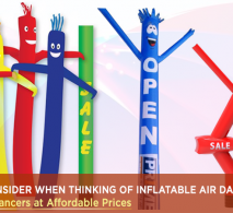 5 Things To Consider When Thinking Of Inflatable Air Dancers