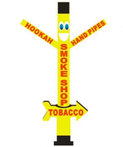 20ft Smoke Shop Inflatable Tube Man Air Dancer 1