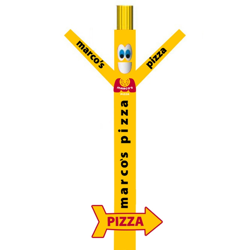 Marcos Pizza Inflatable Tube Man With Arrow