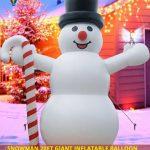 Snowman 20Ft Giant Inflatable Balloon Sale USA