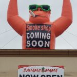 22ft Smoke Shop Giant Inflatable Gorilla