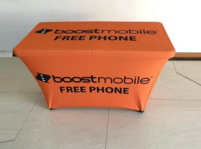 4ft ORANGE TABLE COVER 02