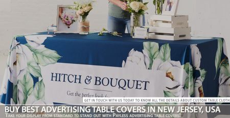 Buy Best Advertising Table Covers in New Jersey, USA