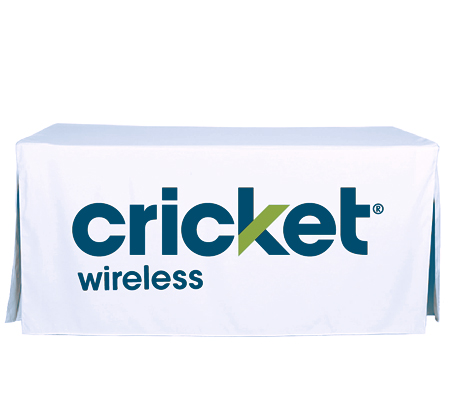 Cricket Wireless Table Cover