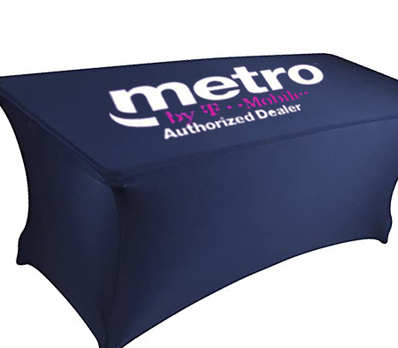 Metro T-Mobile Stretch Table Cover