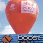 Boot-Mobile-Inflatable-Giant-Roof-Top-Balloon-20-Ft