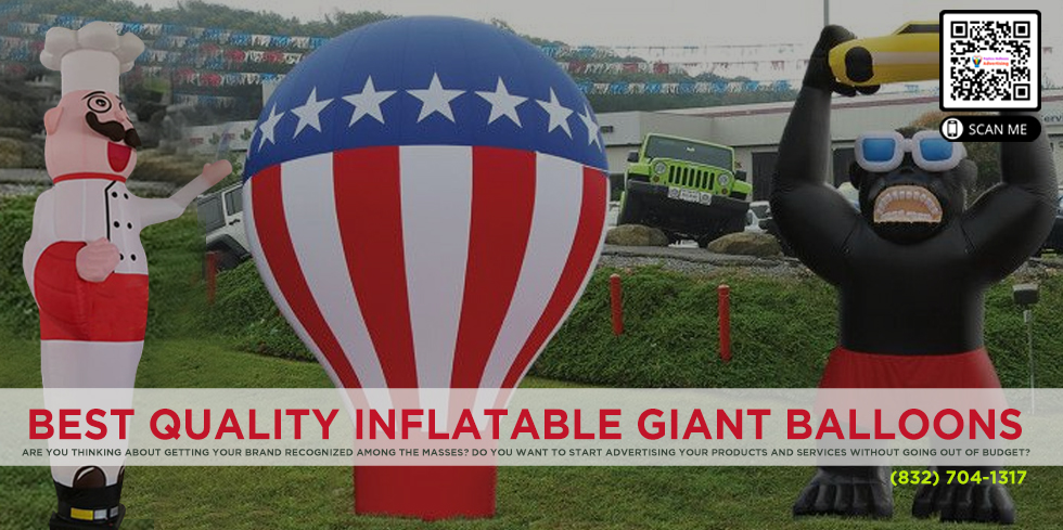 Buy Inflatable Giant Balloons Online