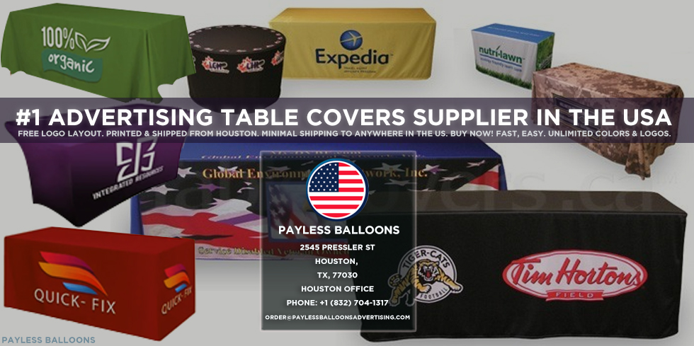 Advertising table covers Supplier