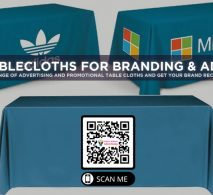 Printed Tablecloths for Branding & Advertising